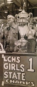 Roy Bowling brought the big trophy home to Laurel County in 1977.