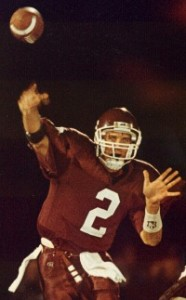 Tim Couch set national passing records at Leslie County