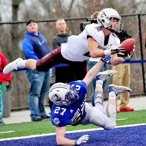 Pulaski County's Jake Johnson has broken state records for career receptions and receiving yards. (Photo by Steve Cornelius of Somerset Commonwealth-Journal)